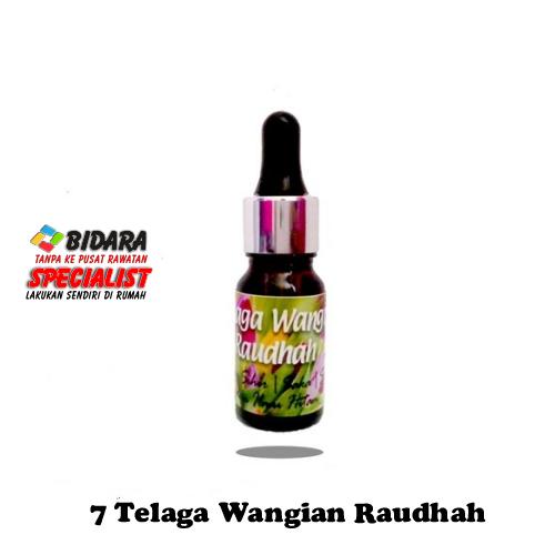 7 Telaga Raudhah Perfume (10ML)