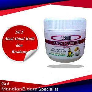 scrub gatal kulit